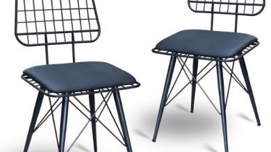 Minimalist Ferforje Sandalye Modelleri Nelerdir?